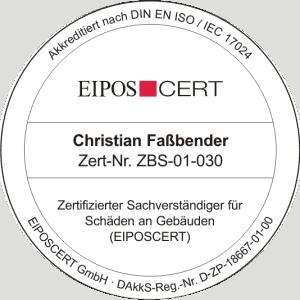 Bausachverständiger in Köln - Zertifizierter Sachverständiger für Schäden an Gebäuden (EIPOSCERT)
