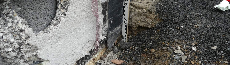 Bauteilöffnung - Sachverständiger für feuchte Keller und Bauwerksabdichtungen in Köln